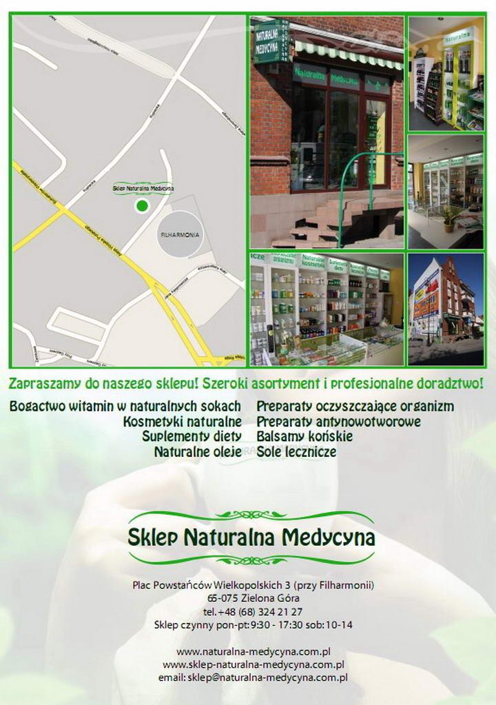 Sklep Naturalna Medycyna Zielona Góra